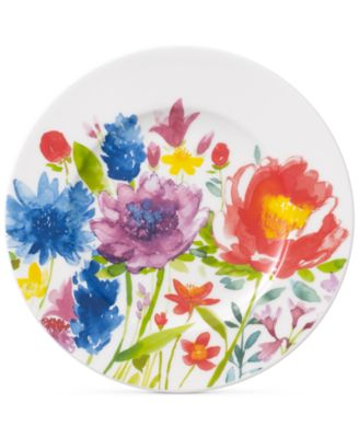 Amnut Flowers Collection Bone China Bread & Butter Plate