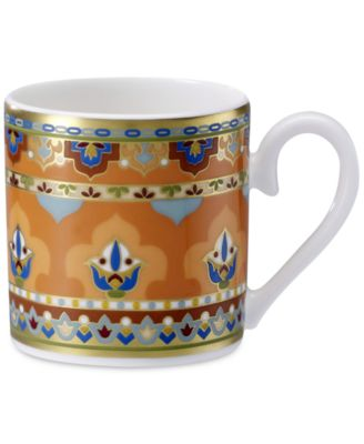 Samarkand Mandarin Collection Porcelain After Dinner Cup