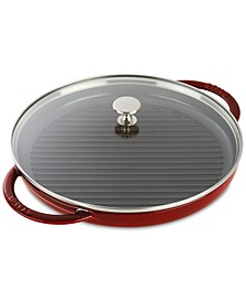 "Enameled Cast Iron 12"" Steam Grill"