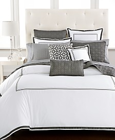 Hotel Collection Embroidered Frame Full/Queen Comforter, Created for Macy's