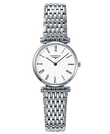 Longines Women's La Grande Classique de Longines Stainless Steel Watch L42094116