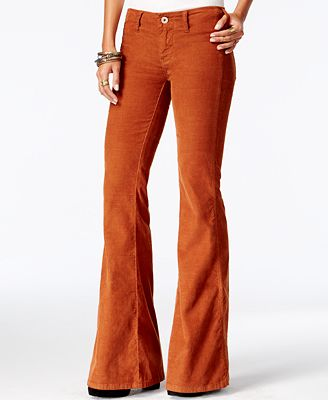 Free People Jolene Flared Corduroy Pants - Pants - Women - Macy's