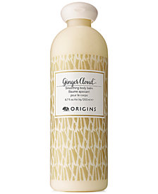 Origins Ginger Cloud Smoothing Body Balm, 6.7 oz