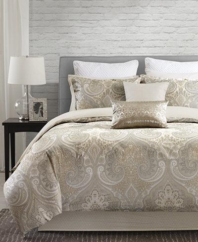 CLOSEOUT! Echo Juneau Reversible Cotton Bedding Collection, 250 Thread Count 100% Cotton