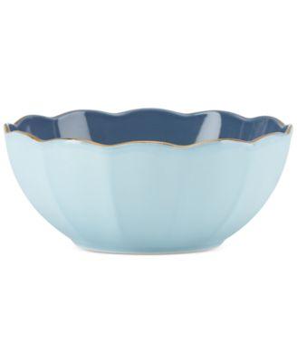 Dinnerware Ironstone Shades of Blue All-Purpose Bowl