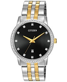 Men's Two-Tone Stainless Steel Bracelet Watch 40mm BI5034-51E