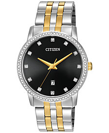 Citizen Men's Two-Tone Stainless Steel Bracelet Watch 40mm BI5034-51E