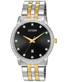 Citizen Men's Two-Tone Stainless Steel Bracelet Watch 40mm BI5034-51E