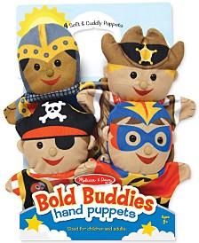 Melissa and Doug Kids' Bold Buddies Adventure Set Hand Puppets
