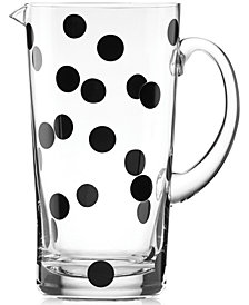 kate spade new york All in Good Taste Deco Dot Pitcher