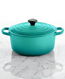 Signature Enameled Cast Iron 3.5 Qt. Round French Oven