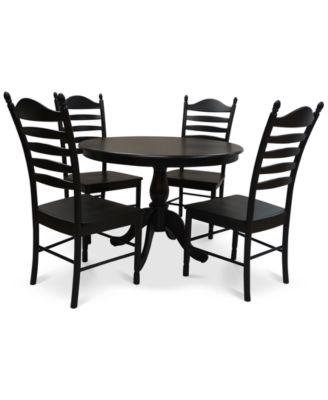 Flora 5-Pc. Dining Set, Quick Ship