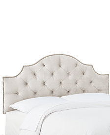 Hillsboro Queen Tufted Headboard, Quick Ship