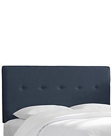 Holley Full Five Button Headboard, Quick Ship