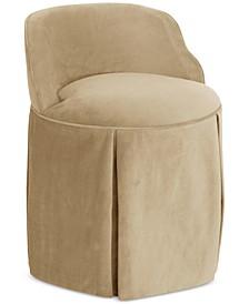 Jasmine Skirted Vanity Chair