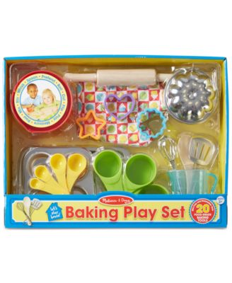 Kids' Baking Play Set with Bowls
