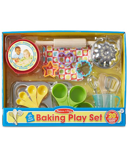 melissa and doug kids 39 baking play set with bowls all. Black Bedroom Furniture Sets. Home Design Ideas