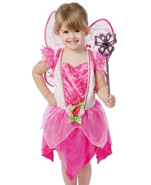 Melissa and Doug Kids' Flower Fairy Role Play Costume Set