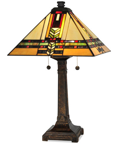 Dale Tiffany Palo Mission Metal Table Lamp