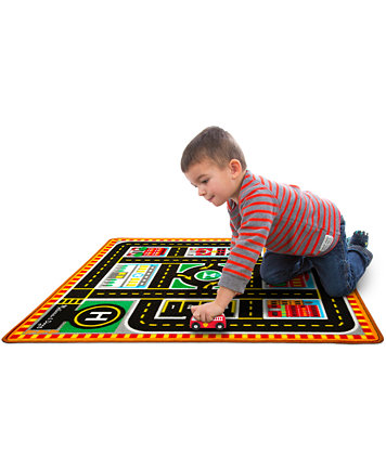 Melissa And Doug Kids Round The City Rescue Rug Toys Baby Macy S