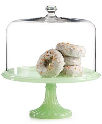 Martha Stewart Collection Jadeite Cake Stand with Dome Only at Macyu0027s  sc 1 st  Macyu0027s & Martha Stewart Collection Jadeite Cake Stand with Dome Only at ...