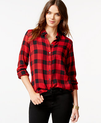 Find womens plaid shirts at Macy's Macy's Presents: The Edit - A curated mix of fashion and inspiration Check It Out Free Shipping with $99 purchase + Free Store Pickup.