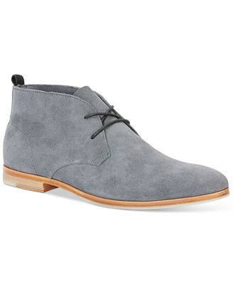 Calvin Klein Farnel Oily Suede Chukka Boots - All Men\'s Shoes ...
