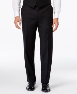 Image of Lauren Ralph Lauren Solid Ultraflex Classic-Fit Dress Pants