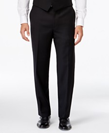 Lauren Ralph Lauren Solid Big and Tall Classic-Fit Dress Pants