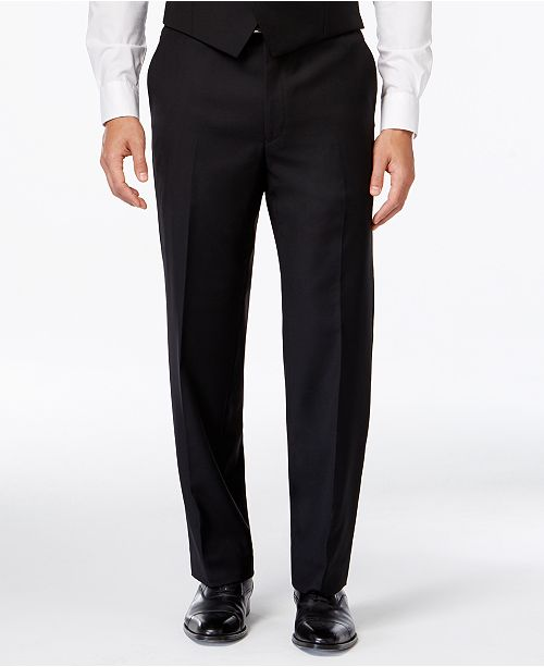 060b9c2b652 ... Lauren Ralph Lauren Solid Big and Tall Classic-Fit Dress Pants ...
