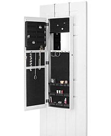 Whitmor Over-the-Door Jewelry Cabinet