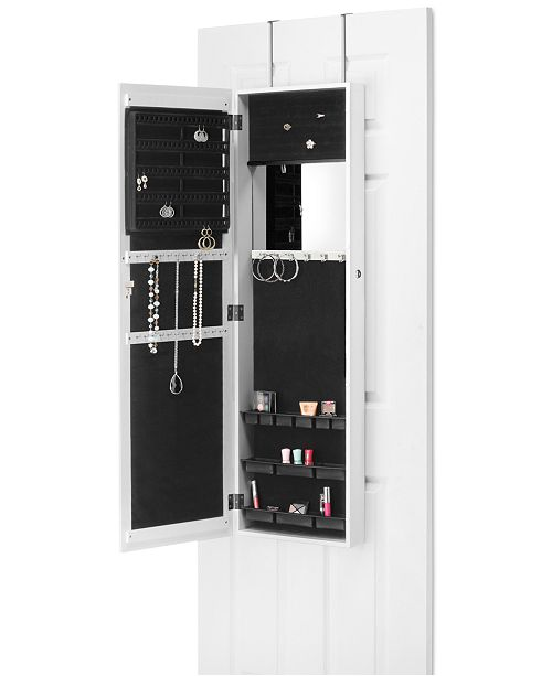 Whitmor Over The Door Jewelry Cabinet Cleaning Organization