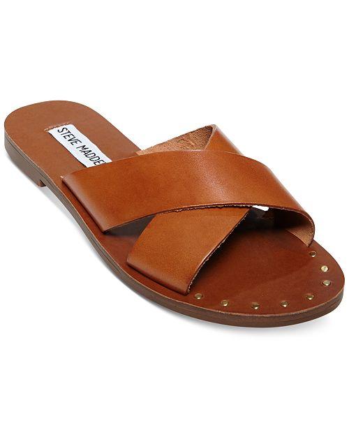211b594b3 Steve Madden Dryzzle Crisscross Sandals & Reviews - Sandals & Flip ...