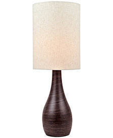 Lite Source Quatro III Ceramic Table Lamp