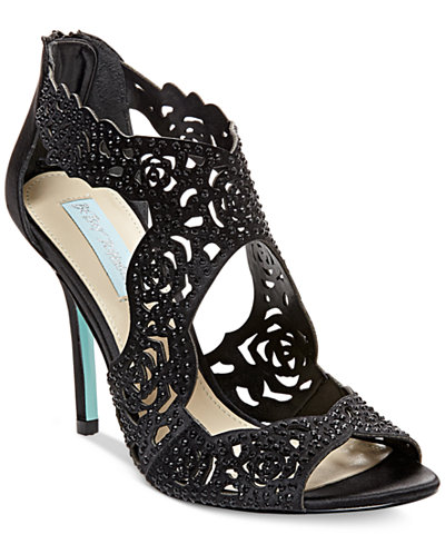 Blue By Betsey Johnson Livie Evening Sandals Sandals