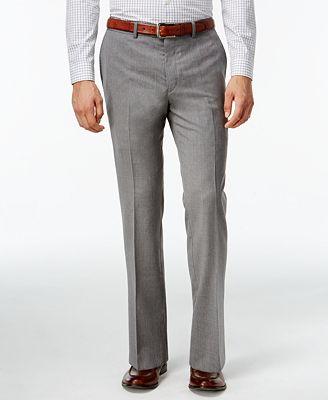 Bar III Light Grey Extra Slim-Fit Pants - Pants - Men - Macy's