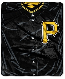 Northwest Company Pittsburgh Pirates Raschel Strike Blanket