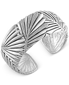 EFFY Balissima Diamond Bangle Bracelet (1/2 ct. t.w.) in Sterling Silver
