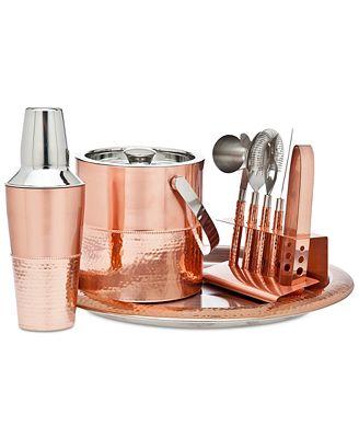 Godinger Copper Bar Tool Set