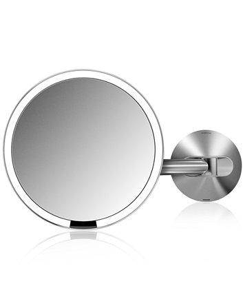 Simplehuman Wall Mount Lighted Sensor Activated Magnifying