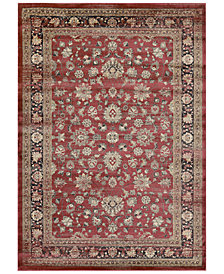 "CLOSEOUT! Couristan HARAZ HAR1443 Red 9'2"" x 12'5"" Area Rug"