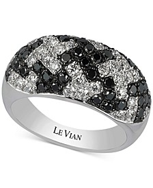Exotics® Houndstooth™ Diamond Ring (1-3/4 ct. t.w.) in 14k White Gold