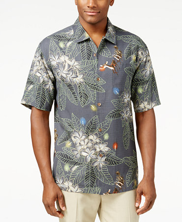 Tommy bahama harbour lights holiday shirt casual button for Tommy bahama christmas shirt 2014