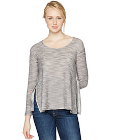A Pea in the Pod Knit Nursing Top