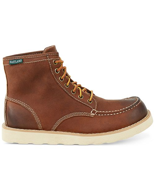 Eastland Lumber Lace Up Boots Men Shoes Oxblood