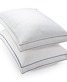 Luxe Down-Alternative Medium Density Gusset Pillows, Hypoallergenic, Created for Macy's