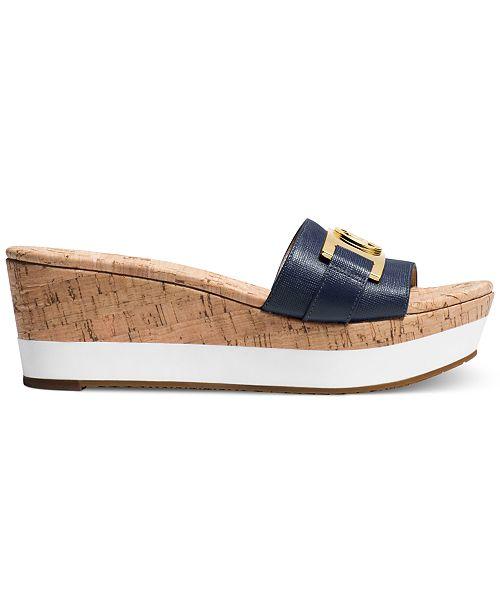 b5008a3958b Michael Kors Warren Platform Sandals   Reviews - Sandals   Flip ...