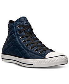 Converse Unisex Chuck Taylor Hi Quilted Casual Sneakers from Finish Line