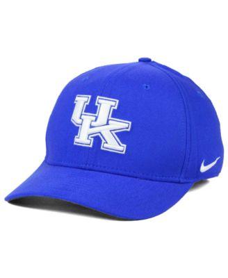 detailed look ddb64 734d4 Nike Kentucky Wildcats Classic Swoosh Cap - Sports Fan Shop By Lids - Men -  Macy s