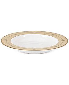 Lenox Jeweled Jardin Bone China Rim Soup Bowl